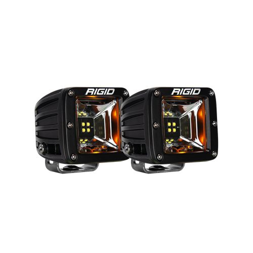 Rigid Industries Scene Amber Backlight Surface Mount Pair Radiance RIGID Industries