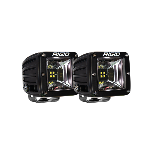 Rigid Industries Scene White Backlight Surface Mount Pair Radiance RIGID Industries