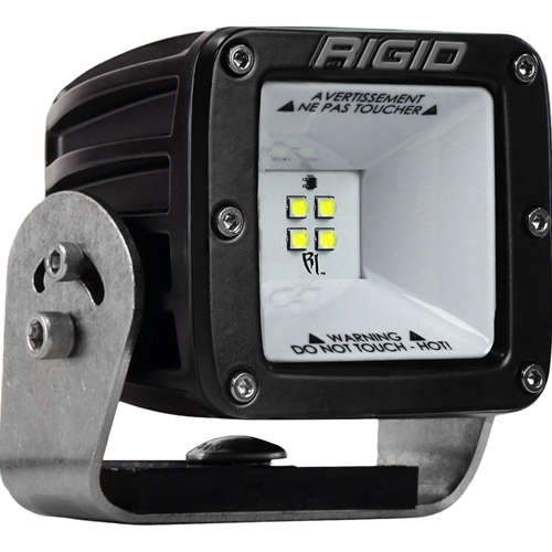 Rigid Industries 2x2 115 Degree DC Power Scene Light Black Housing RIGID Industries