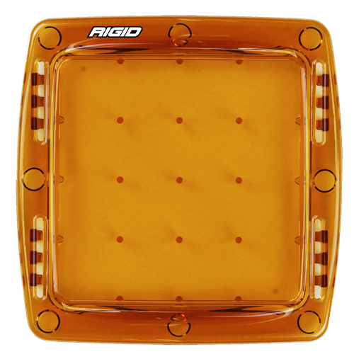 Rigid Industries Light Cover Amber Q-Series Pro RIGID Industries
