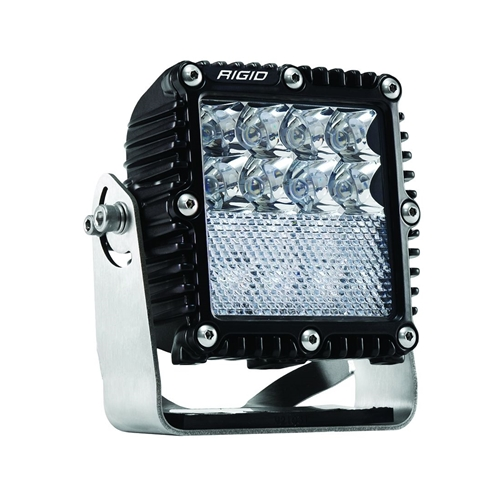 Rigid Industries Spot/Flood Down Diffused Black Housing Q-Series Pro RIGID Industries