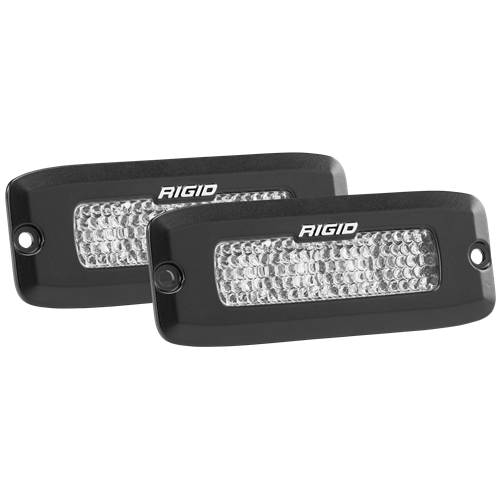 Rigid Industries Flood Diffused Backup Flush Mount Kit SR-Q Pro RIGID Industries