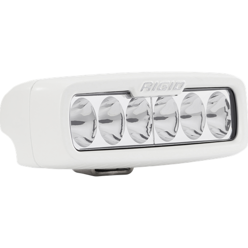 Rigid Industries Driving Surface Mount White Housing SR-Q Pro RIGID Industries