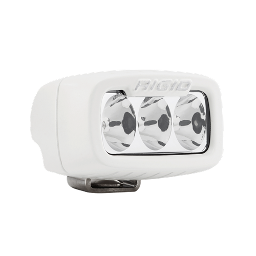 Rigid Industries Driving Surface Mount White Housing SR-M Pro RIGID Industries