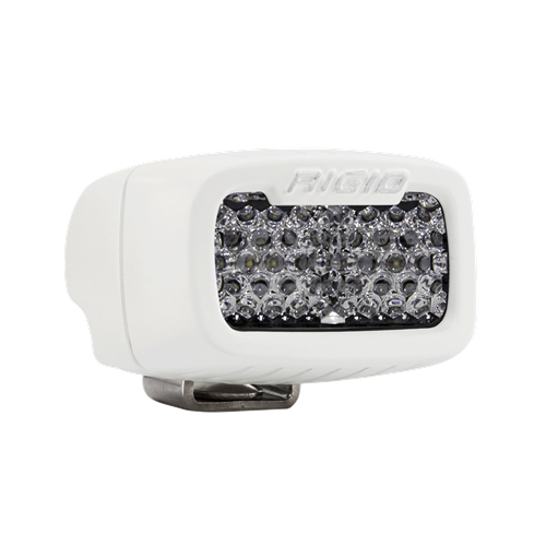 Rigid Industries Diffused Surface Mount White Housing SR-M Pro RIGID Industries