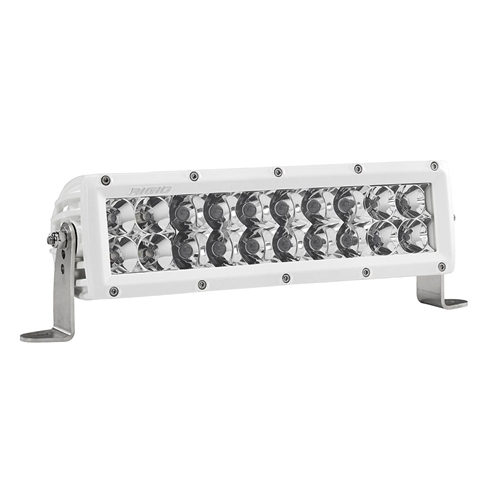 Rigid Industries 10 Inch Spot/Flood Combo Light White Housing E-Series Pro RIGID Industries
