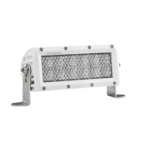 Rigid Industries 6 Inch Diffused Light White Housing E-Series Pro RIGID Industries
