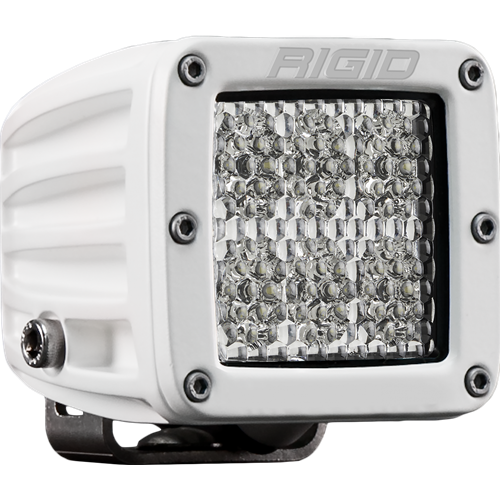 Rigid Industries Hybrid Specter Diffused Surface Mount White Housing D-Series Pro RIGID Industries