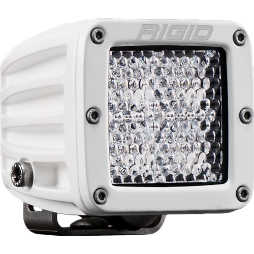 Rigid Industries Hybrid Diffused Surface Mount White Housing D-Series Pro RIGID Industries