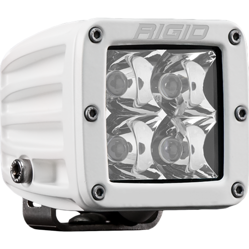 Rigid Industries Hybrid Spot Surface Mount White Housing D-Series Pro RIGID Industries