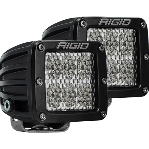 Rigid Industries Diffused Surface Mount Pair D-Series Pro RIGID Industries