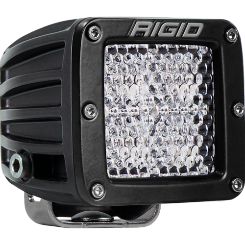 Rigid Industries Diffused Surface Mount Black D-Series Pro RIGID Industries