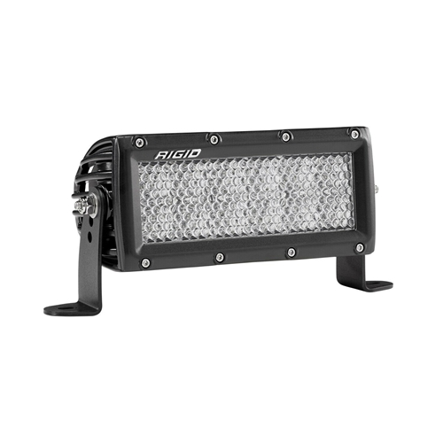 Rigid Industries 6 Inch Driving Diffused Light Black Housing E-Series Pro RIGID Industries