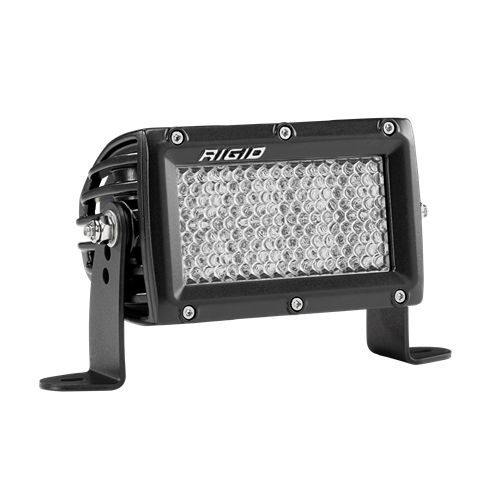 Rigid Industries 4 Inch Driving Diffused Light Black Housing E-Series Pro RIGID Industries