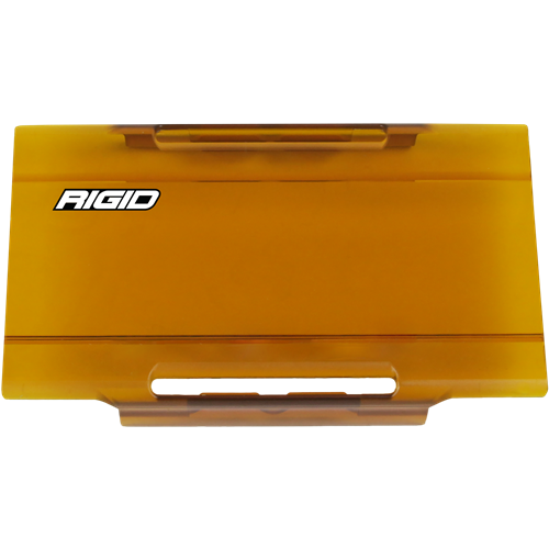 Rigid Industries 6 Inch Light Cover Amber E-Series Pro RIGID Industries