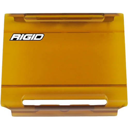 Rigid Industries 4 Inch Light Cover Amber E-Series Pro RIGID Industries