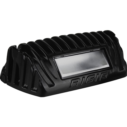 Rigid Industries 1x2 65 Degree DC Power Scene Light Amber LED Black Housing RIGID Industries