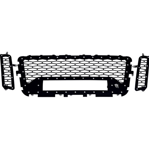 Rigid Industries 16-17 Nissan Titan Grille No Camera Fits One 20 Inch E-Series Pro RIGID Industries