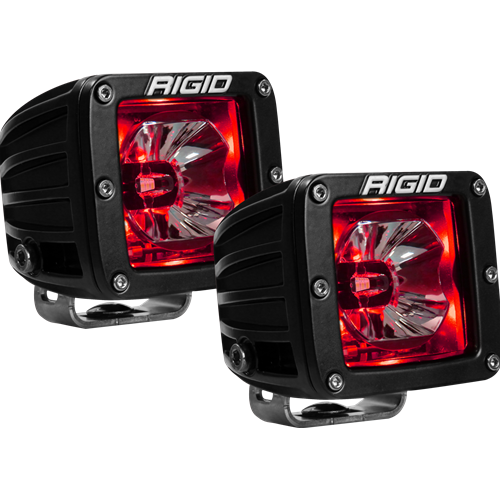 Rigid Industries LED Pod with Red Backlight Radiance RIGID Industries