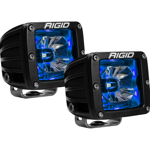 Rigid Industries LED Pod with Blue Backlight Radiance RIGID Industries