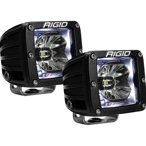 Rigid Industries LED Pod with White Backlight Radiance RIGID Industries