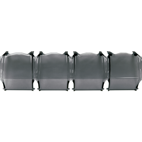 Rigid Industries 10 Inch Lens Cover Adapt Smoke RIGID Industries