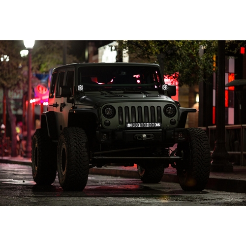 Rigid Industries LED Light Pod 4 Inch Radiance POD XL Red Backlight Pair RIGID