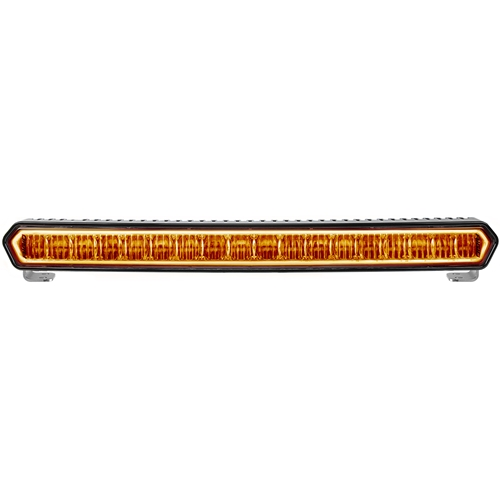 20 Inch LED Light Bar Black W/Amber Halo Off Road SR-L Series Rigid Industries
