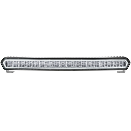 20 Inch LED Light Bar Black W/White Halo Off Road SR-L Series Rigid Industries