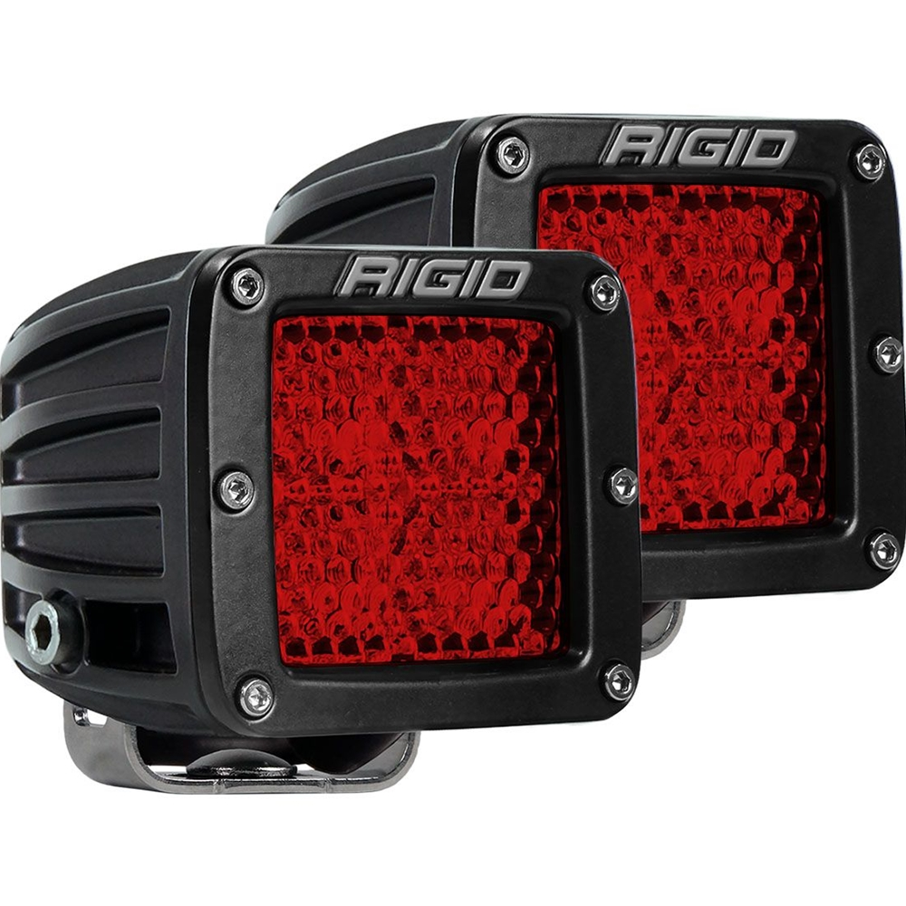 Amber Diffused Rigid Industries SR-M PRO HIGH// LOW Surface Mount LED Lights